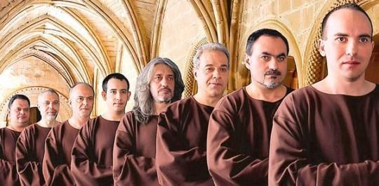 The Gregorien Voices   Bild: Privat
