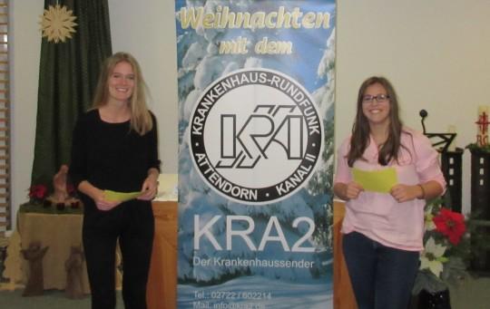 Die Sendung wurde auf dem TV Programm 17 gesendet und erstmals vor laufender Kamera angekündigt.   Bild: KRA 2